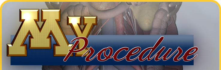 The MyProcedure website is a free tool developed by CREST and SimPORTAL featuring custom anatomical models and animations for patient education